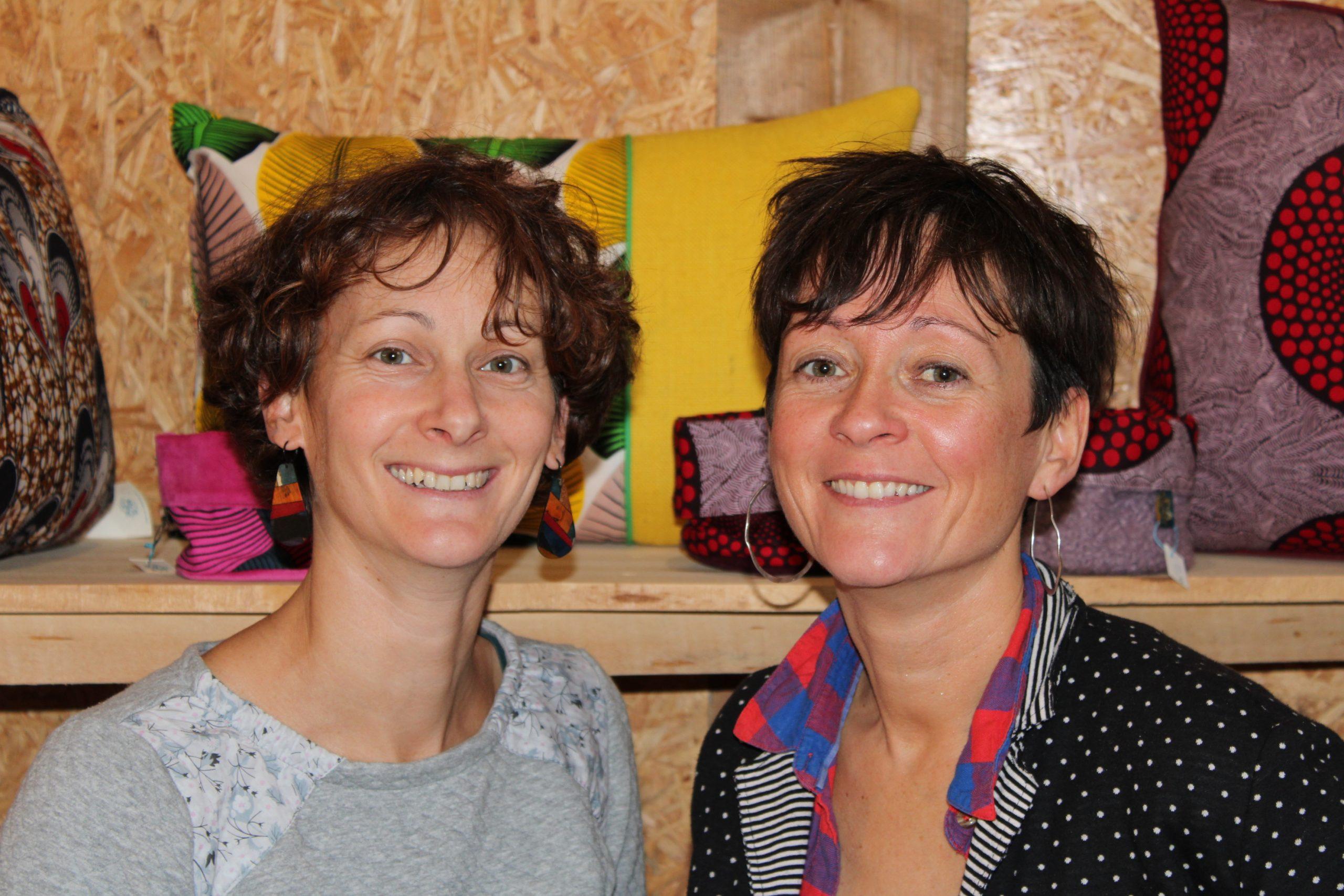 Mélissa et Adeline la petite fabric
