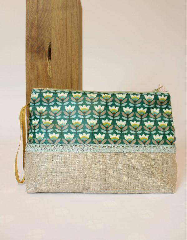 Hermine Goutelette, Création Textile, trousse zippée